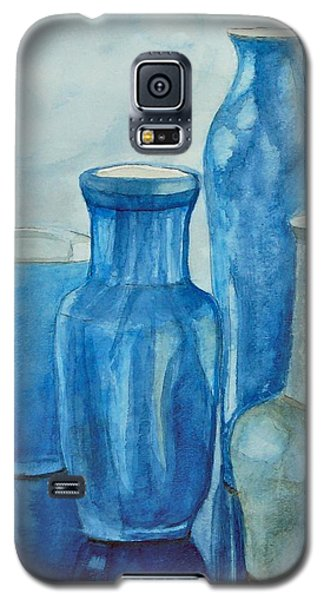 Blue Vases I Galaxy S5 Case