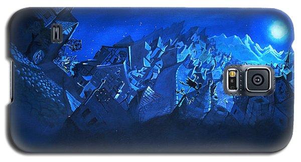 Blue Village Galaxy S5 Case by Joseph Hawkins