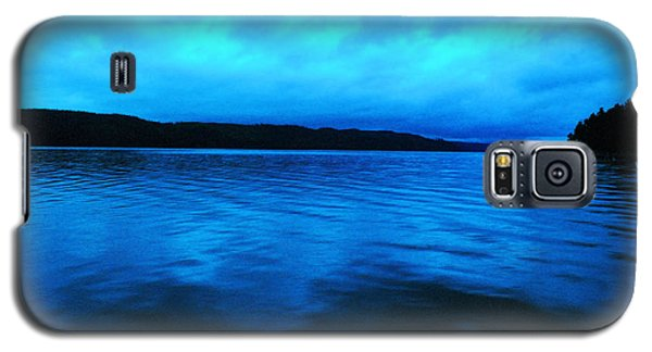Blue Water In The Morn  Galaxy S5 Case by Jeff Swan