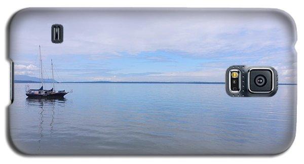 Galaxy S5 Case featuring the photograph Blue Water by Karen Molenaar Terrell