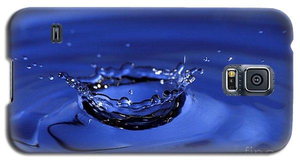 Blue Water Splash Galaxy S5 Case