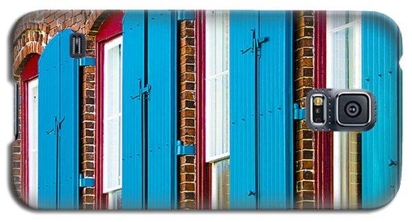 Blue Windows Galaxy S5 Case