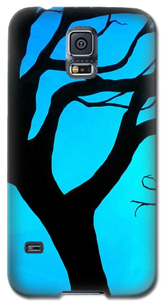 Blue Winter Galaxy S5 Case