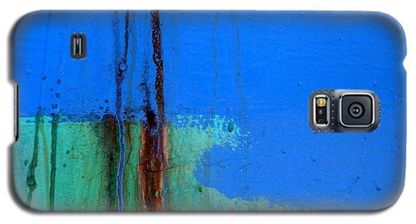 Blue With Streaks 2 Galaxy S5 Case