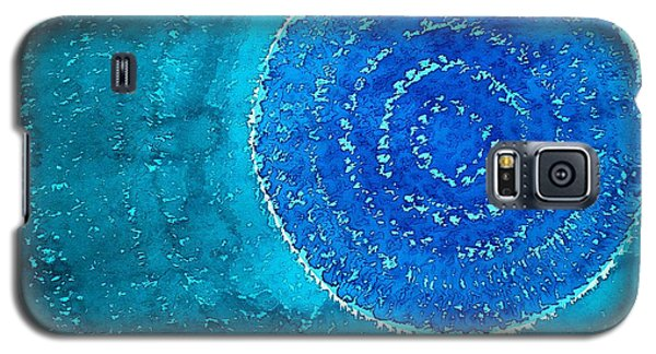 Blue World Original Painting Galaxy S5 Case