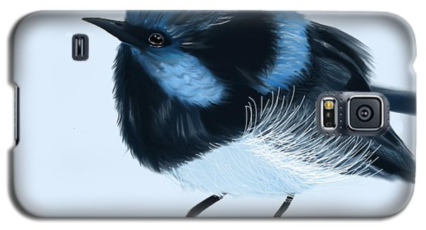 Blue Wren Beauty Galaxy S5 Case