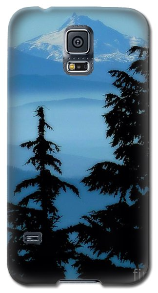 Blue Yonder Mountain Galaxy S5 Case