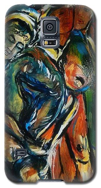 Blue77 Galaxy S5 Case by Dawn Fisher