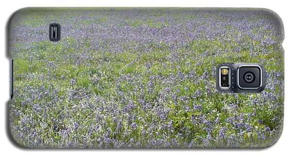 Galaxy S5 Case featuring the photograph Bluebell Fields by John Williams