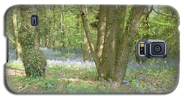 Galaxy S5 Case featuring the photograph Bluebell Wood by John Williams