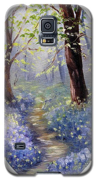 Bluebell Wood Galaxy S5 Case