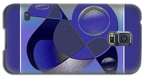 Galaxy S5 Case featuring the digital art Bluebird by Iris Gelbart