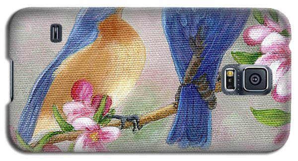 Bluebird Love Galaxy S5 Case