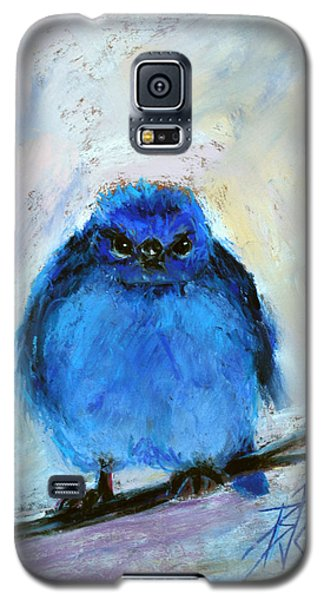 Bluebird Of Unhappiness Galaxy S5 Case by Billie Colson