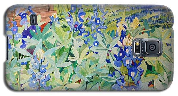 Bluebonnet Beauties Galaxy S5 Case