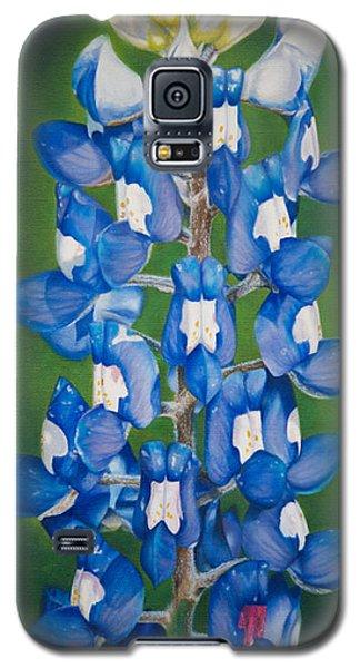 Bluebonnet Buffalo Clover Galaxy S5 Case by Dee Dee  Whittle