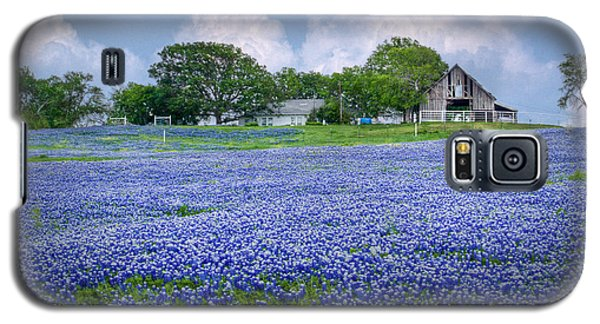 Bluebonnet Farm Galaxy S5 Case