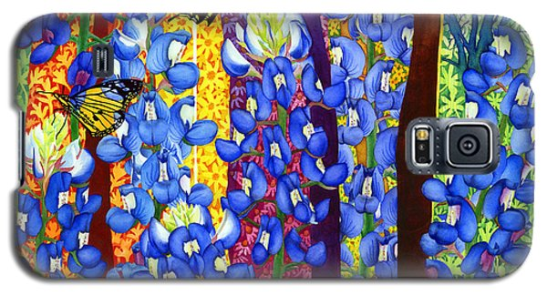 Bluebonnet Garden Galaxy S5 Case