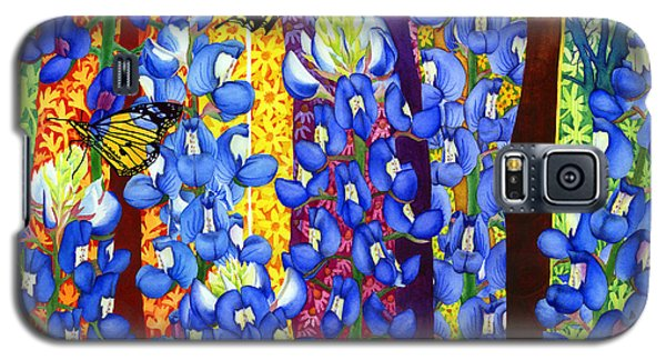 Bluebonnet Garden Galaxy S5 Case