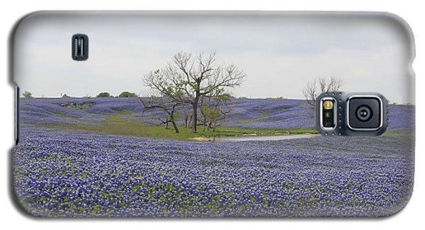 Bluebonnet Oasis Galaxy S5 Case by Jerry Bunger
