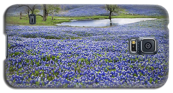 Bluebonnet Pond Galaxy S5 Case