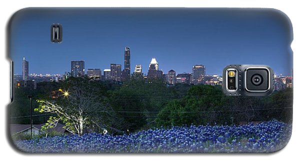 Bluebonnet Twilight Galaxy S5 Case by Dave Files