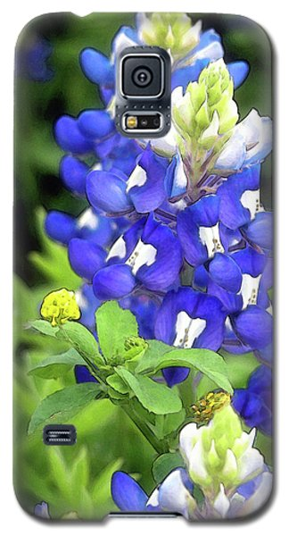Bluebonnets Blooming Galaxy S5 Case