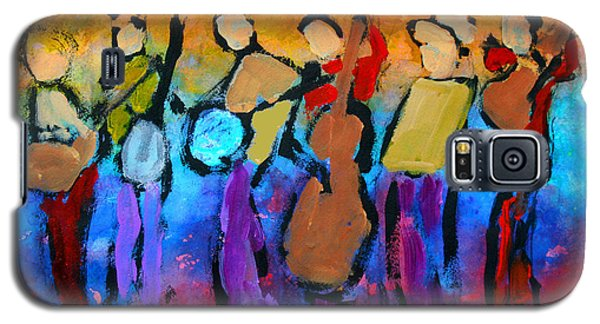 Bluegrass Band Galaxy S5 Case by Mordecai Colodner