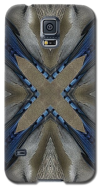 Bluejay Feathers Galaxy S5 Case