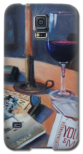 Blues And Wine Galaxy S5 Case