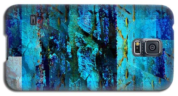Blues Galaxy S5 Case by Barbara Moignard