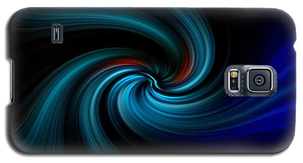 Blues Swirl Galaxy S5 Case by Trena Mara