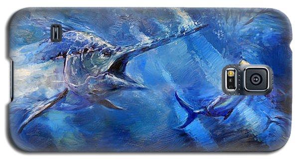 Swordfish Galaxy S5 Case - Blues by Tom Dauria