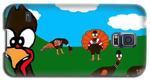 Blueskyfarm Turkeys Galaxy S5 Case