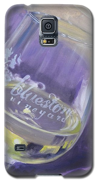 Bluestone Vineyard Wineglass Galaxy S5 Case
