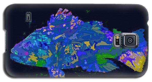 Galaxy S5 Case featuring the digital art Blufish by David Klaboe