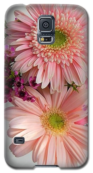 Galaxy S5 Case featuring the photograph Blush by Peggy Stokes