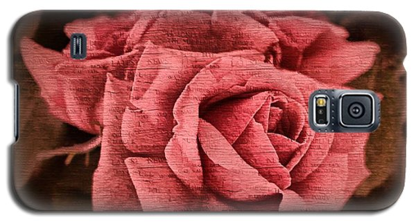 Galaxy S5 Case featuring the photograph Blush by Wallaroo Images