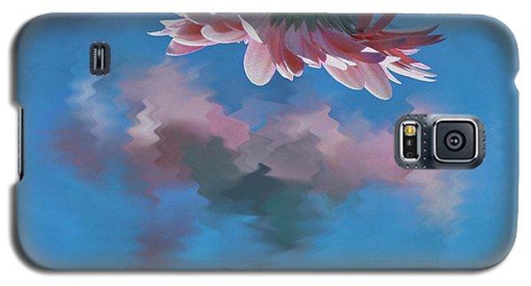 Blushing Pink Bloom Galaxy S5 Case