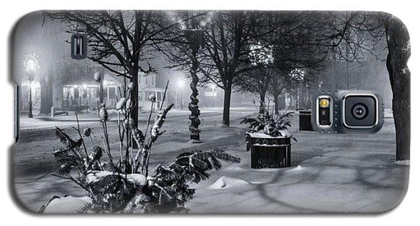 Blustery Winter Night Galaxy S5 Case