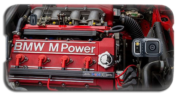 Bmw M Power Engine Galaxy S5 Case by Roger Mullenhour