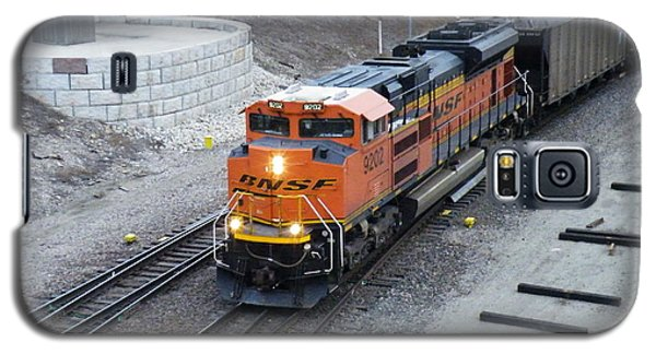 Bnsf Kc Rail Yards Galaxy S5 Case