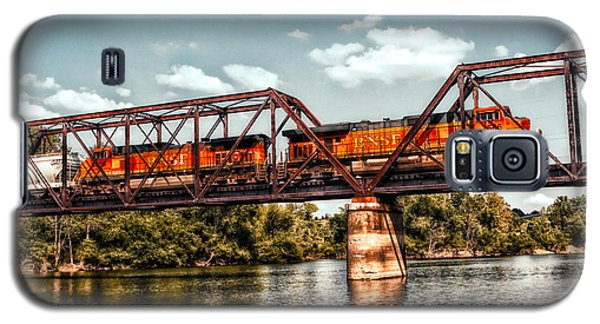 Bnsf Over The Meramec Galaxy S5 Case