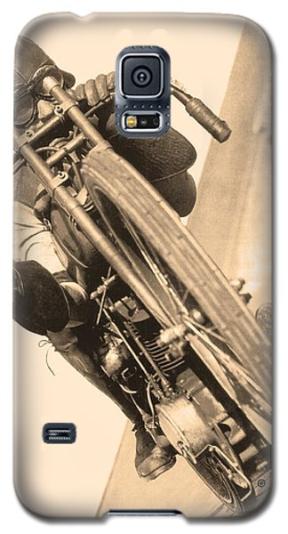 Board Track Racer Galaxy S5 Case
