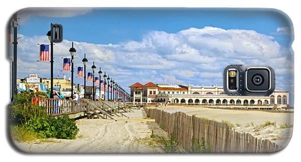 Boardwalk And Music Pier Galaxy S5 Case