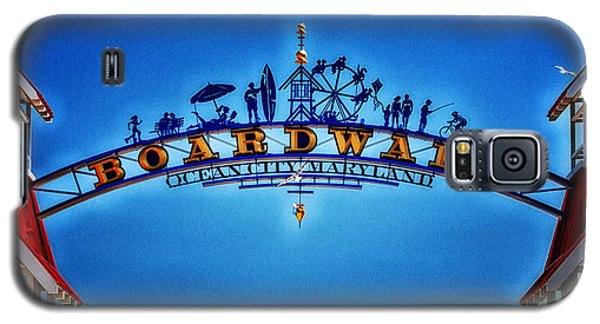 Boardwalk Arch In Ocean City Galaxy S5 Case