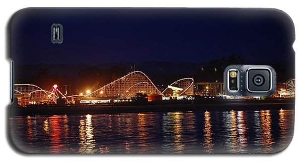 Santa Cruz Boardwalk At Night Galaxy S5 Case
