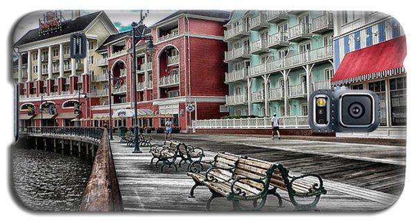 Boardwalk Early Morning Galaxy S5 Case by Thomas Woolworth