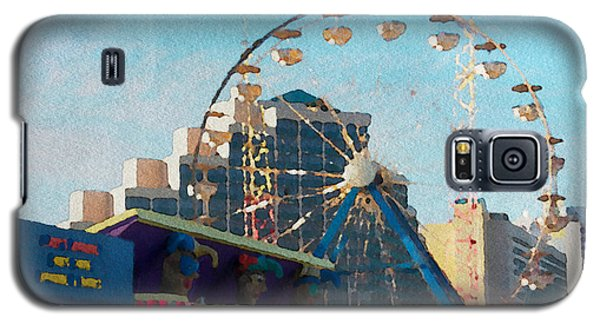 Boardwalk Ferris  Galaxy S5 Case by Alice Gipson