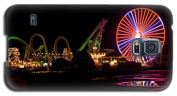 Galaxy S5 Case featuring the photograph Boardwalk Night by Greg Graham